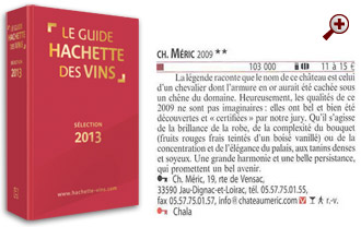 2 stars for Castle Méric 2009: Wine remarkable