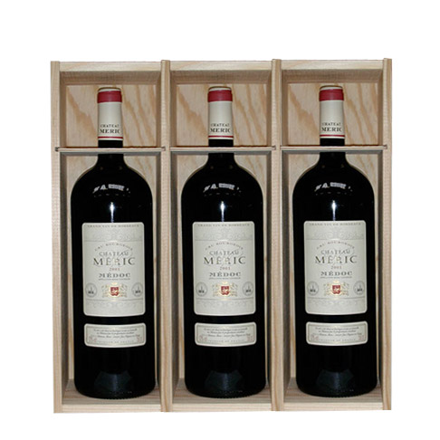 Wood boxes 3 Magnums