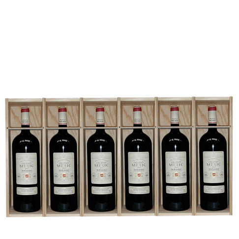 Wood boxes 6 Magnums